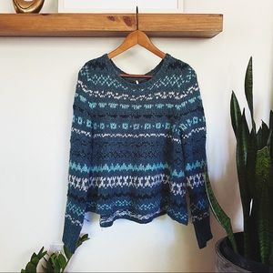 Free people Winter Knit Sweater